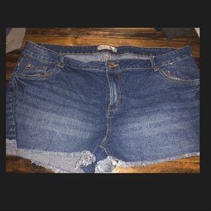 Women's Primark Denim Jean Shorts Size 14